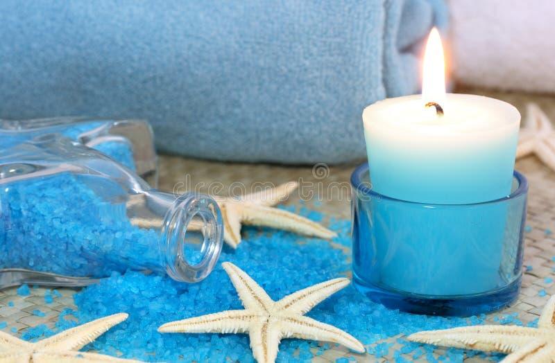 Blue spa stock fotografie
