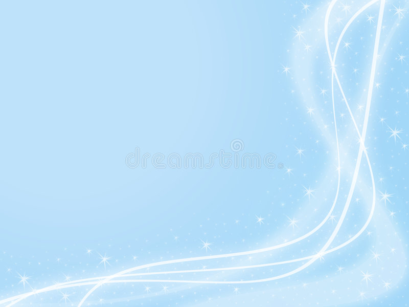 Download Blue Sparkle Background stock illustration. Image of wave - 3763267