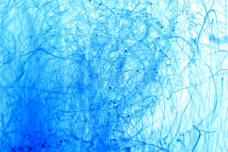 Blue Sparks Background. Blue toned sparks background. Invert long exposure photo, see it at 100 royalty free stock photography