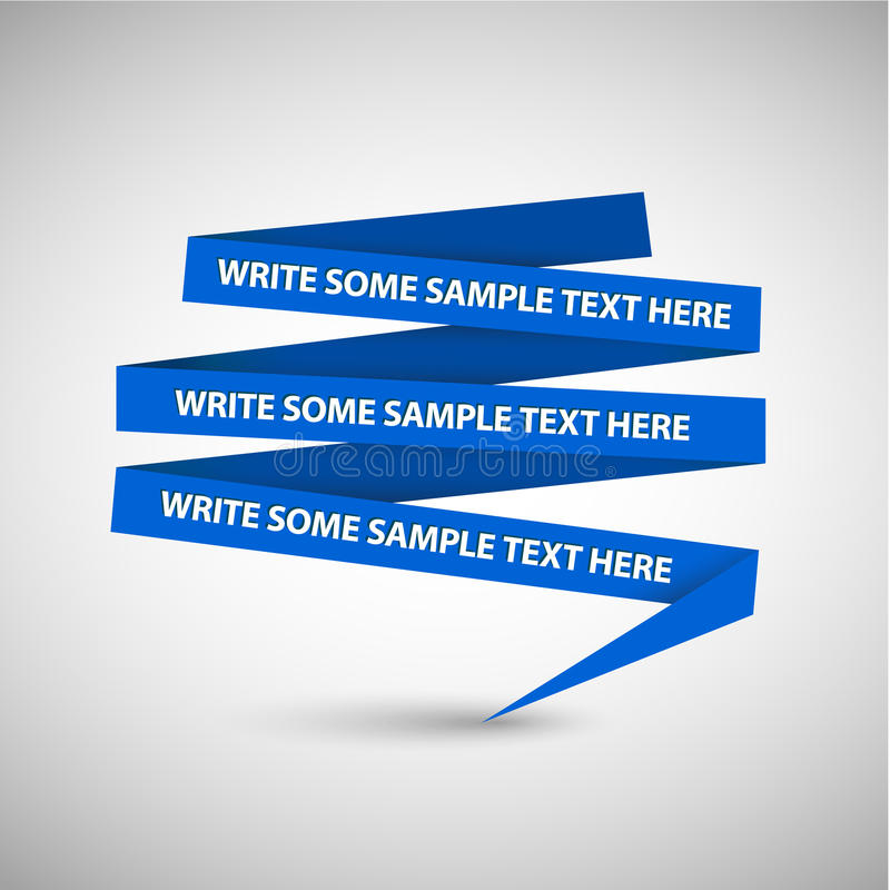 Download Blue Speech Bubble Made From Paper Stock Illustration - Illustration: 21714516