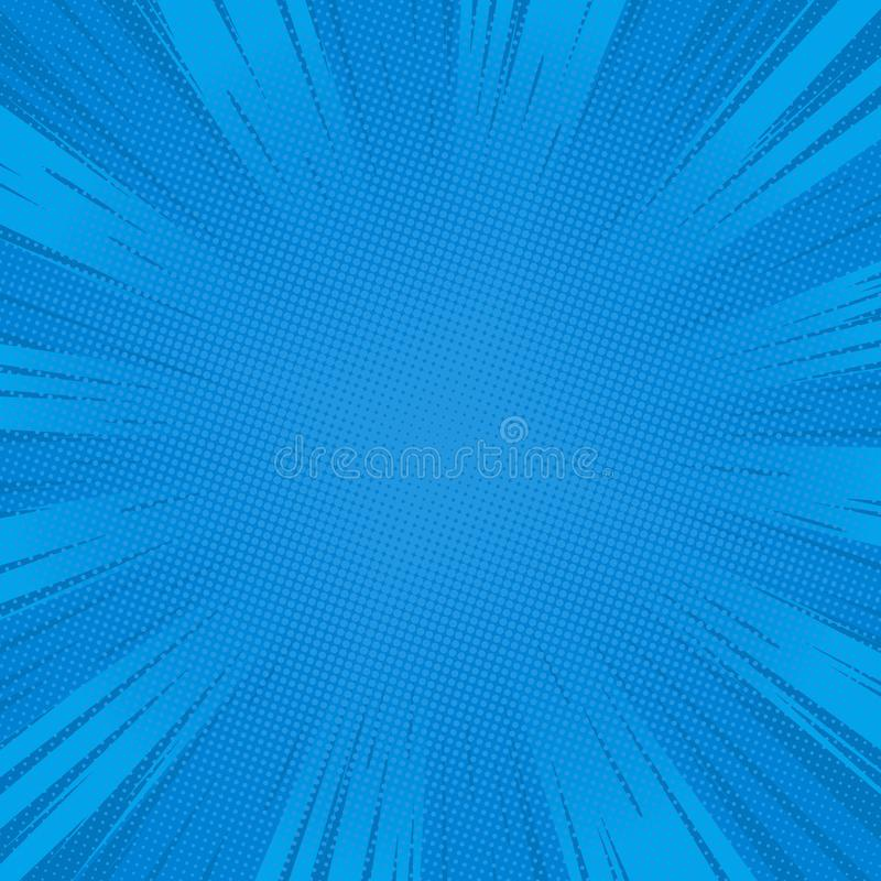 Blue speed lines 4 stock illustration