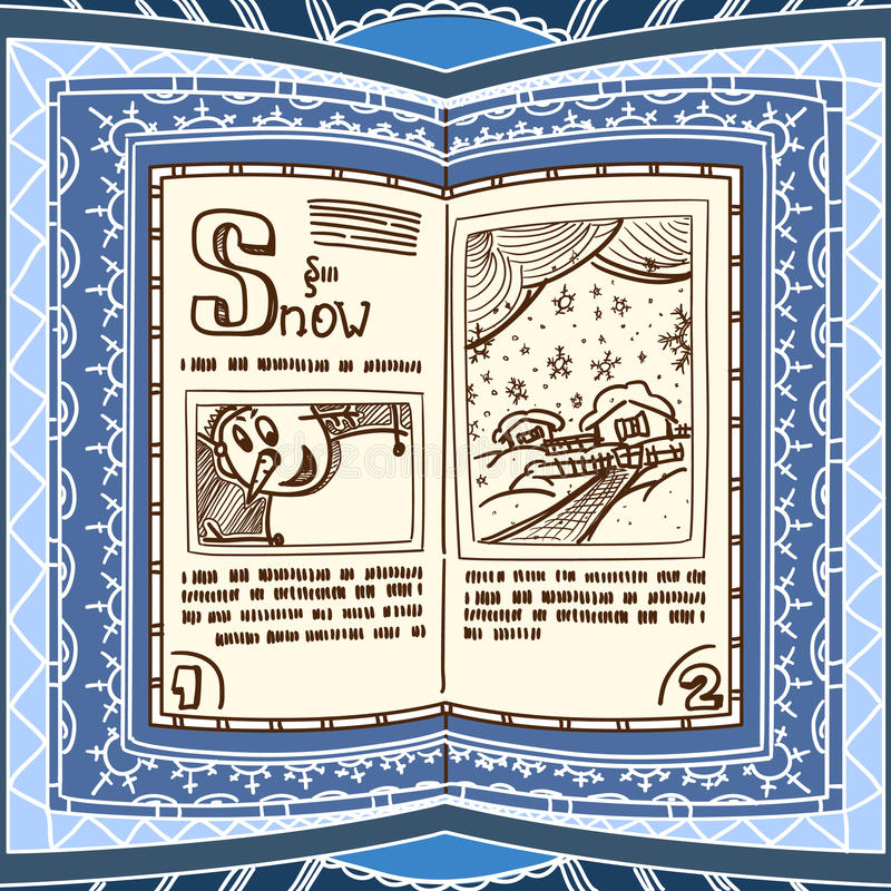 Download Blue Spell Book Royalty Free Stock Photos - Image: 19656868
