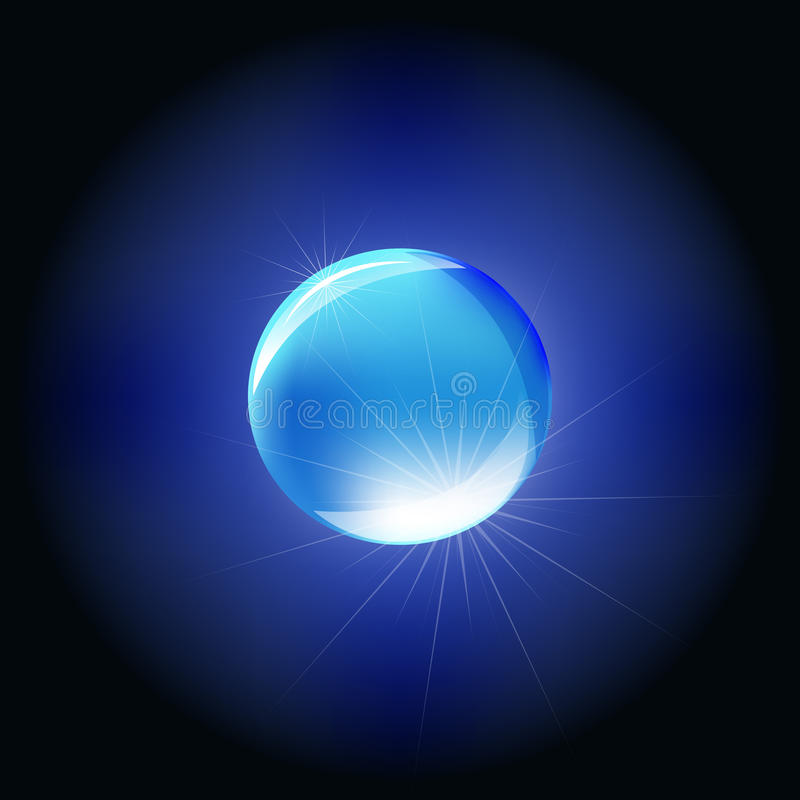 Download Blue Sphere Stock Photography - Image: 19186802