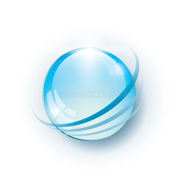 Free Blue Sphere Stock Photo - 30245600