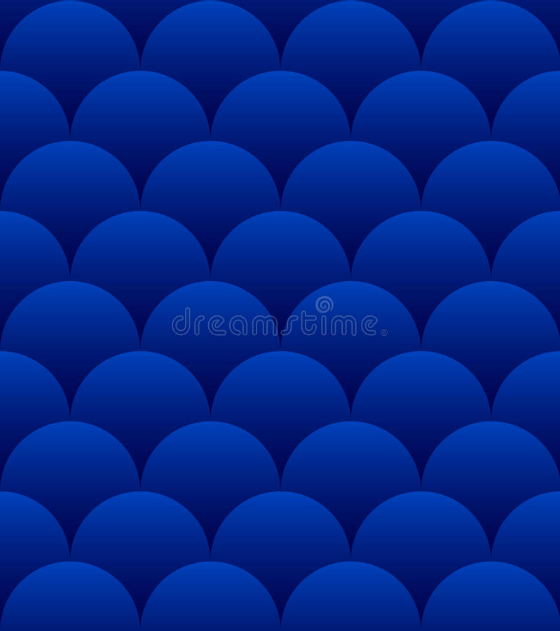 Download Blue Spheres Seamless Pattern Stock Vector - Image: 23829014