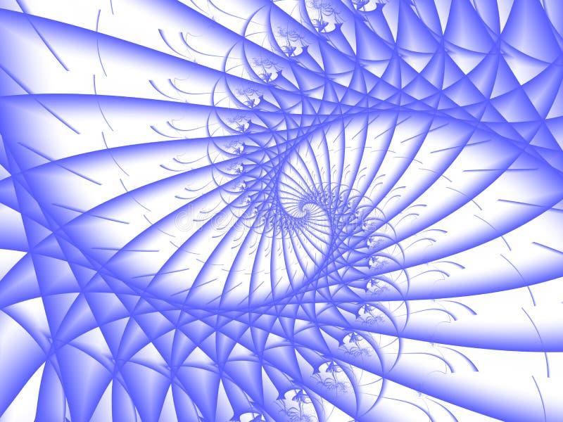 Download Blue spiral stock illustration. Illustration of spiral - 11973705