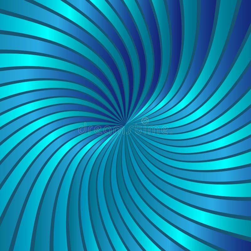 Download Blue spiral vortex vector stock vector. Image of ghostly - 23434754