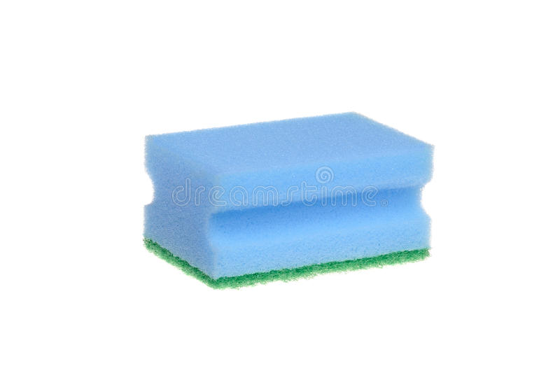 Download Blue sponge stock image. Image of household, wiper, tidy - 22103189