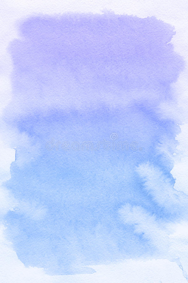 Blue spot, watercolor abstract background vector illustration