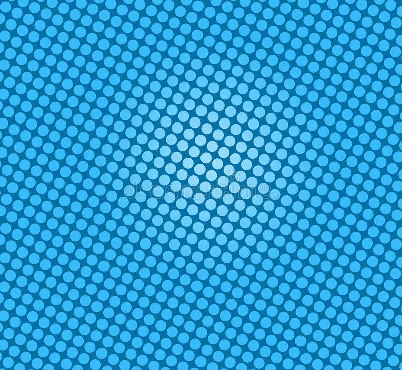 Blue Spots On Blue Royalty Free Stock Photos