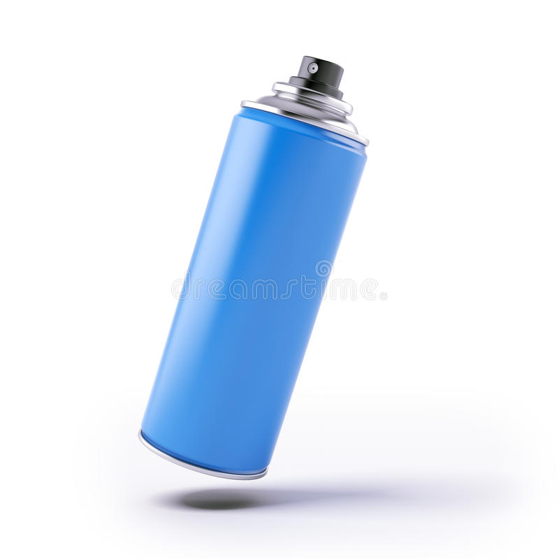 Download Blue Spray Can Stock Photos - Image: 28361513