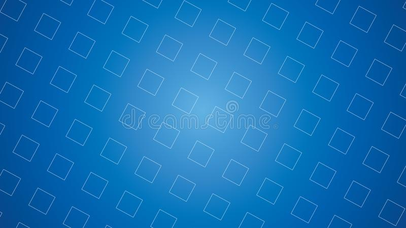 Blue futuristic square geometric abstract background vector. Simple futuristic blue square geometric abstract background vector royalty free stock photography