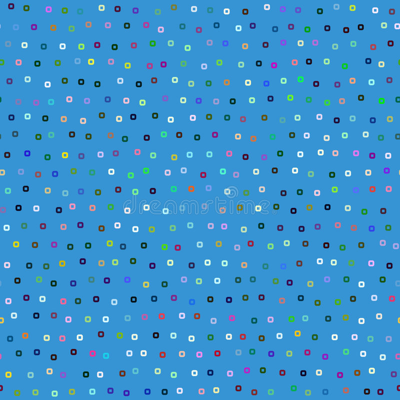 Blue square pattern vector illustration