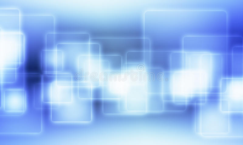 Download Blue Squares With Outer Glowing Stock Illustration - Image: 22134932