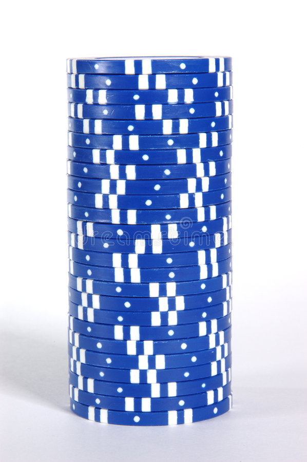 Blue Stack royalty free stock photo
