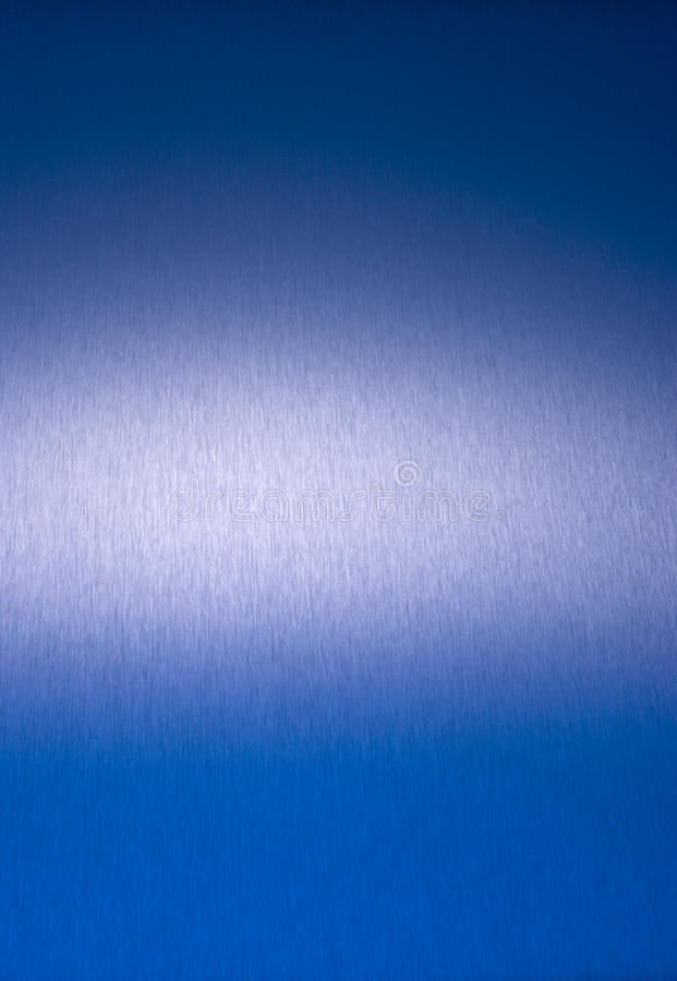 Blue Stainless Steel Abstract Background stock images