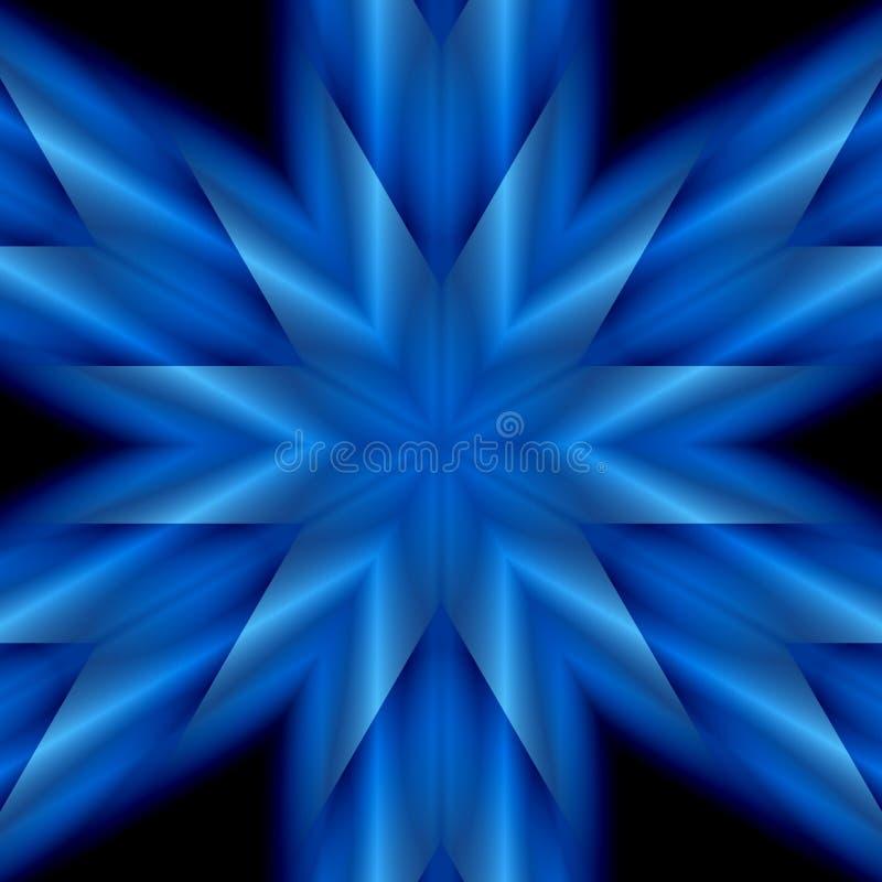 Blue Star Stock Image