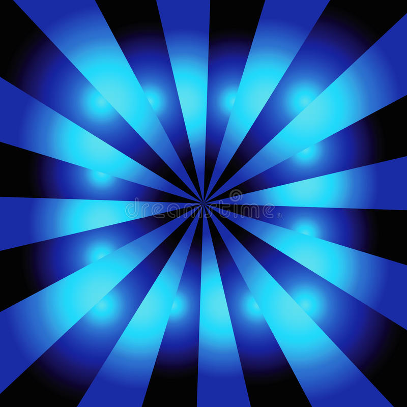 Blue starburst background stock vector. Illustration of ...