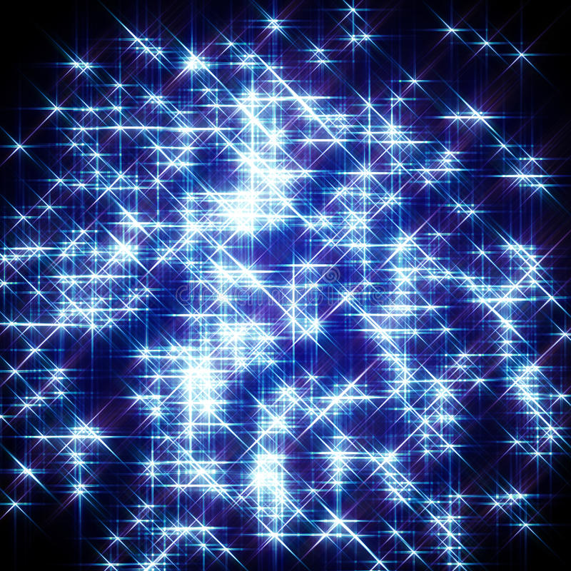 Free Blue Starlight Background Stock Photo - 10705890