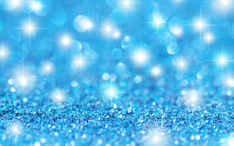 Download Blue Glitter Stars Background Stock Image - Image of shiny, blue: 37872175