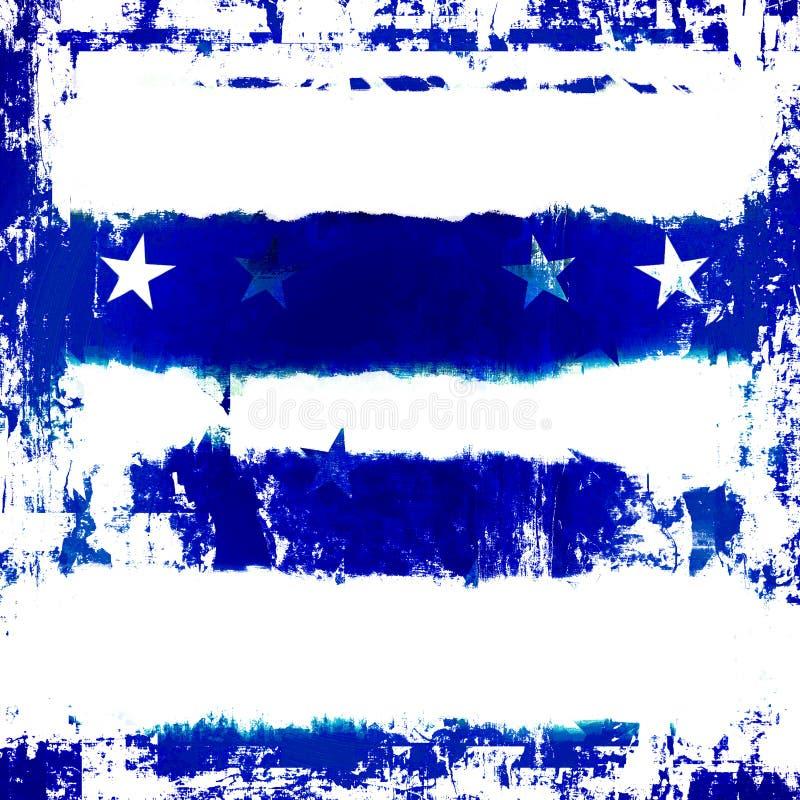 Free Blue Stars Grunge Stock Image - 5682521