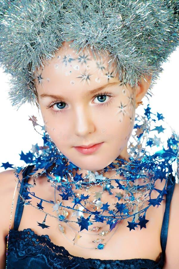 Blue stars stock photo