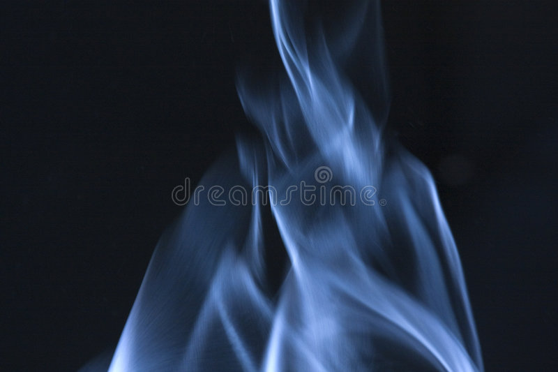 Blue Steam B stock photography
