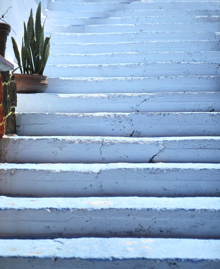 Free Blue Steps Royalty Free Stock Photo - 19992445