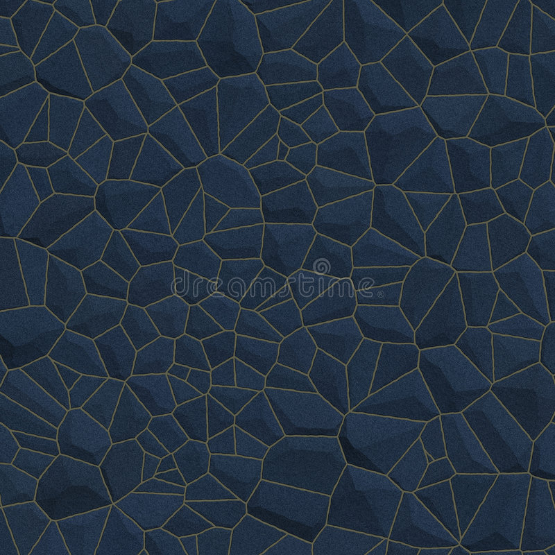 Blue Stone Wall BackGround stock image