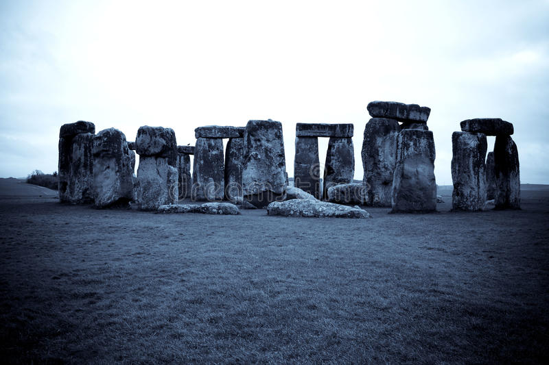 Download Blue Stonehenge stock photo. Image of souvenir, ruined - 27055874