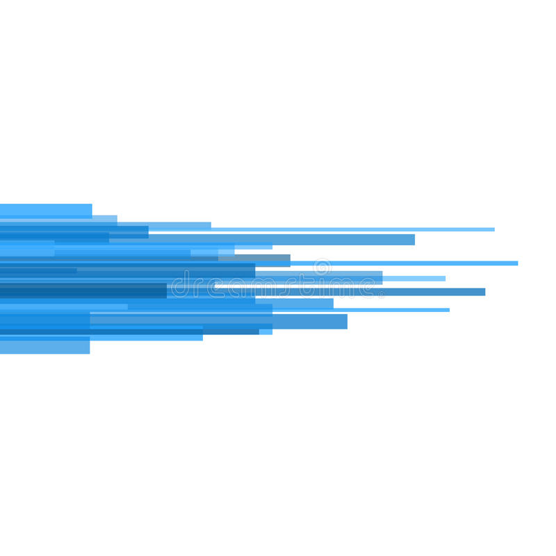 Blue Straight Lines Abstract on Light Background. Vector vector illustration