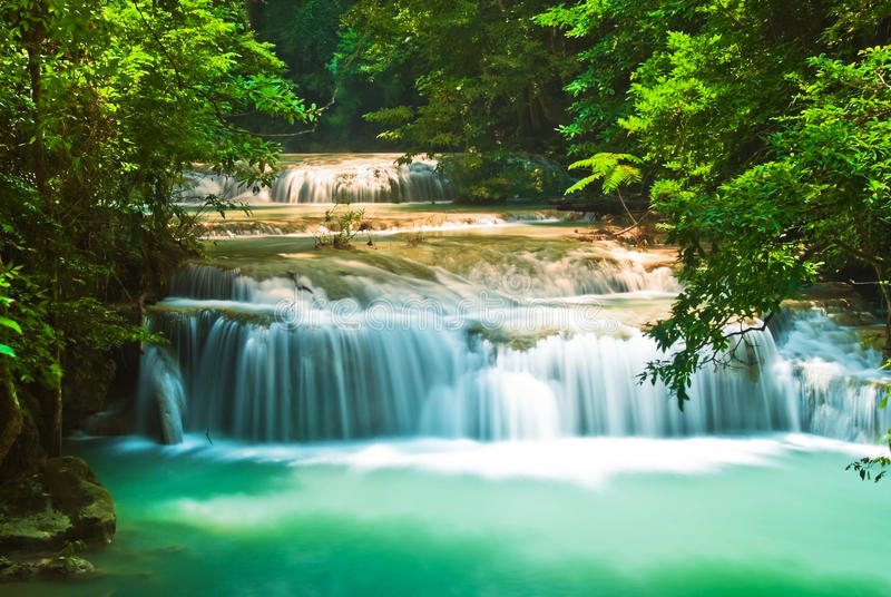 Download Blue Stream Waterfall Royalty Free Stock Photo - Image: 27750305