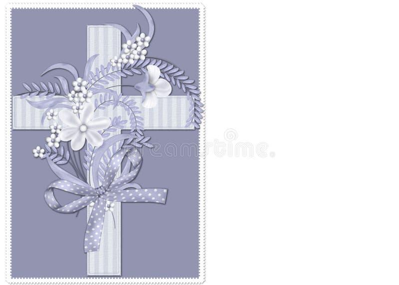 Download Blue Striped Christian Cross Background Stock Illustration - Illustration of business, wallpaper: 8502750