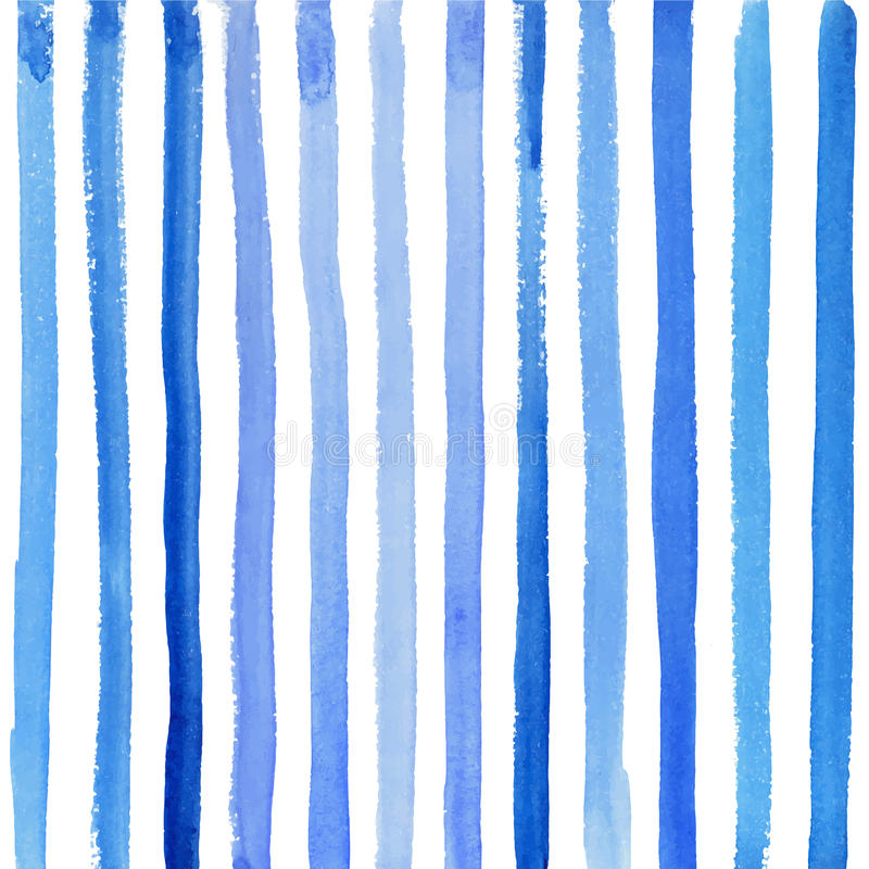 Free Blue Stripes On A White Background Royalty Free Stock Photography - 61679467