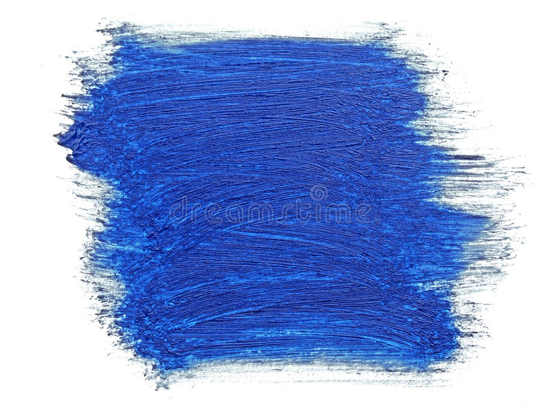 Download Blue stroke stock photo. Image of goache, craft, canvas - 24968328