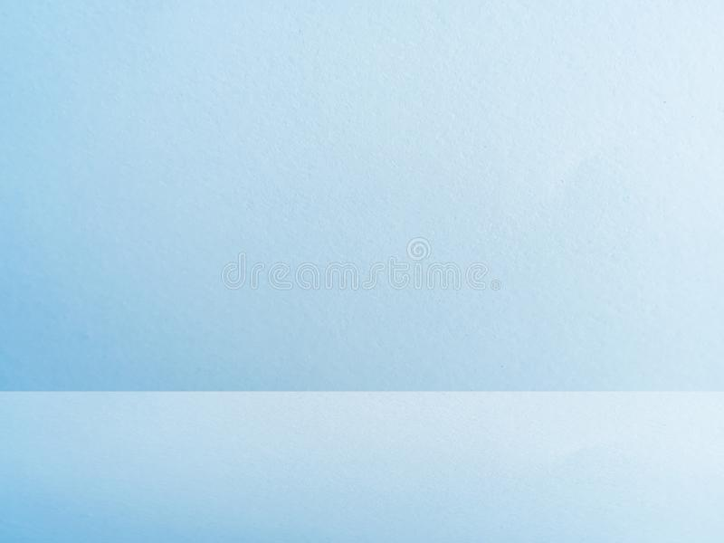 blue studio wall background of paper texture stock photography