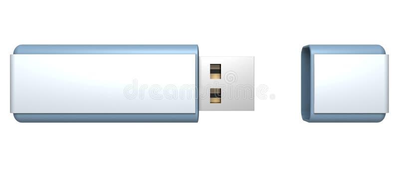 Download Blue Stylish USB Flash Drive Memory Stock Image - Image: 21408011