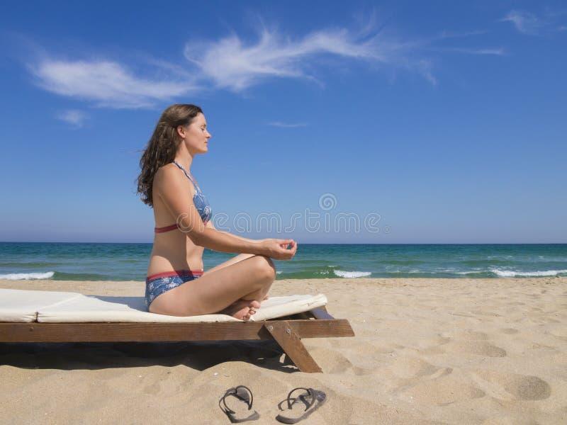 blue summer fotografia stock