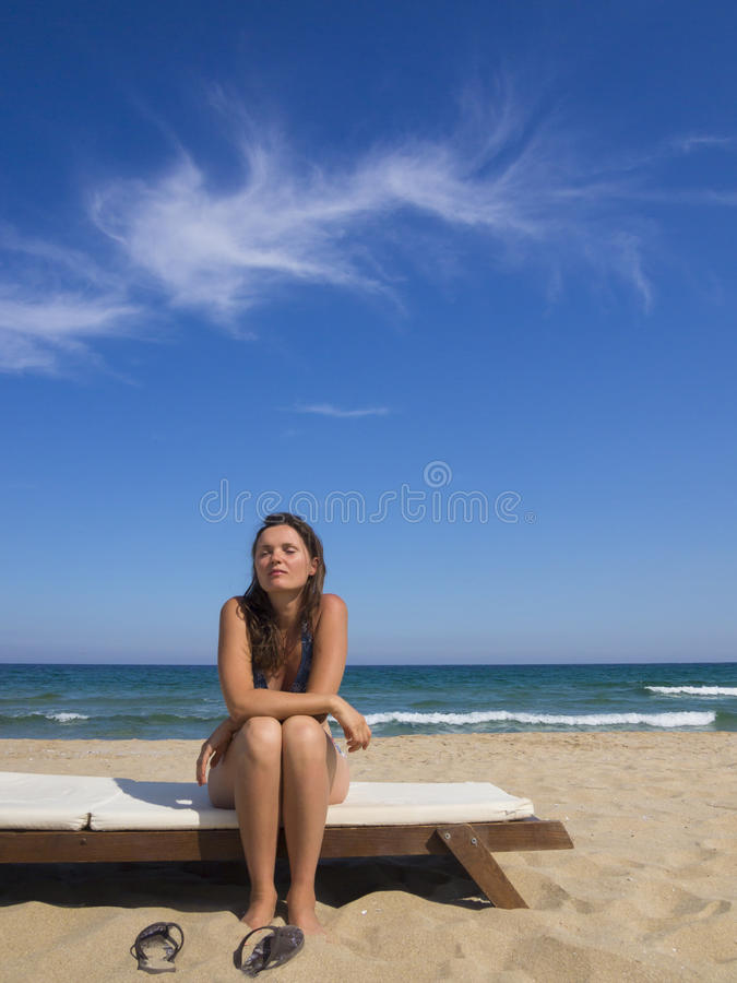 blue summer zdjęcie royalty free
