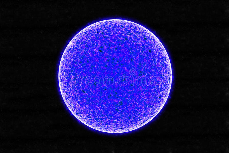 Download Blue Sun stock illustration. Image of background, core - 20596248
