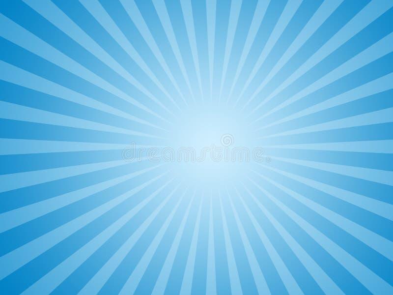 Blue Sun Background Stock Photo