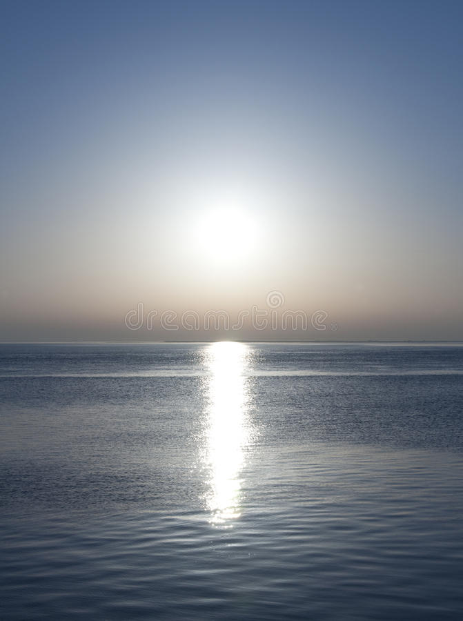 Download Blue sunset stock photo. Image of ocean, design, reflection - 12975342