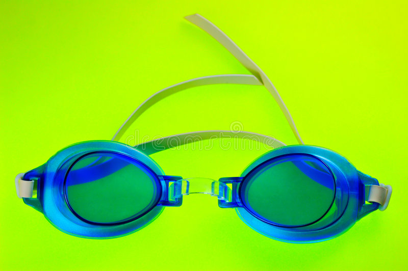 Download Blue Swimming Goggles stock photo. Image of kids, protection - 2308512