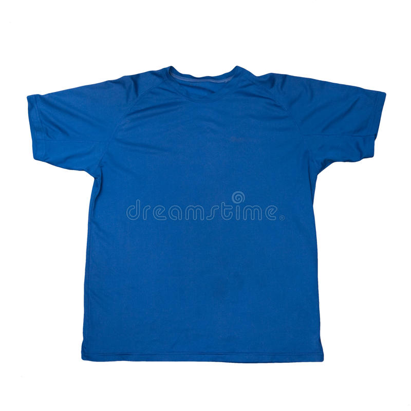 Blue T-shirt Royalty Free Stock Photos