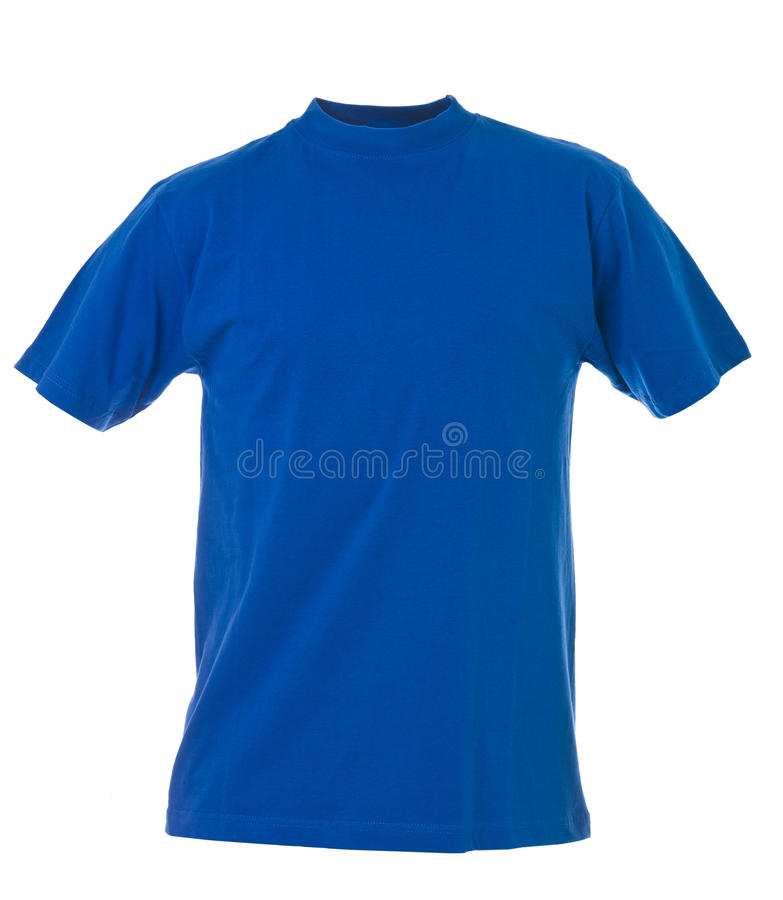 Download Blue t-shirt stock photo. Image of length, clothing, front - 18820766