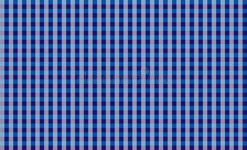 Blue tablecloth gingham checkered background.Texture for :plaid, tablecloths, clothes, shirts, dresses, paper, bedding, blankets. vector illustration