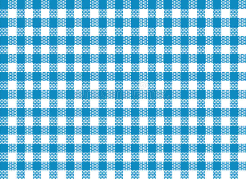 Download Blue Tablecloth Print stock illustration. Image of background - 7931726