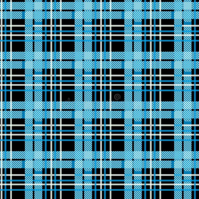 Blue Tartan, plaid seamless pattern. Textured plaid eps 10. Blue Tartan, plaid seamless pattern. Textured plaid eps10 stock photos
