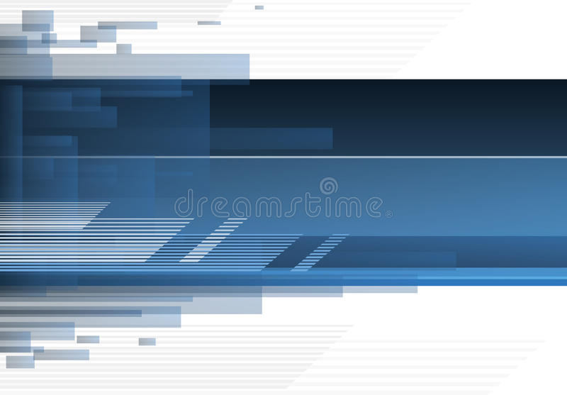 Download Blue Tech Abstract Background Stock Illustration - Illustration: 72694201