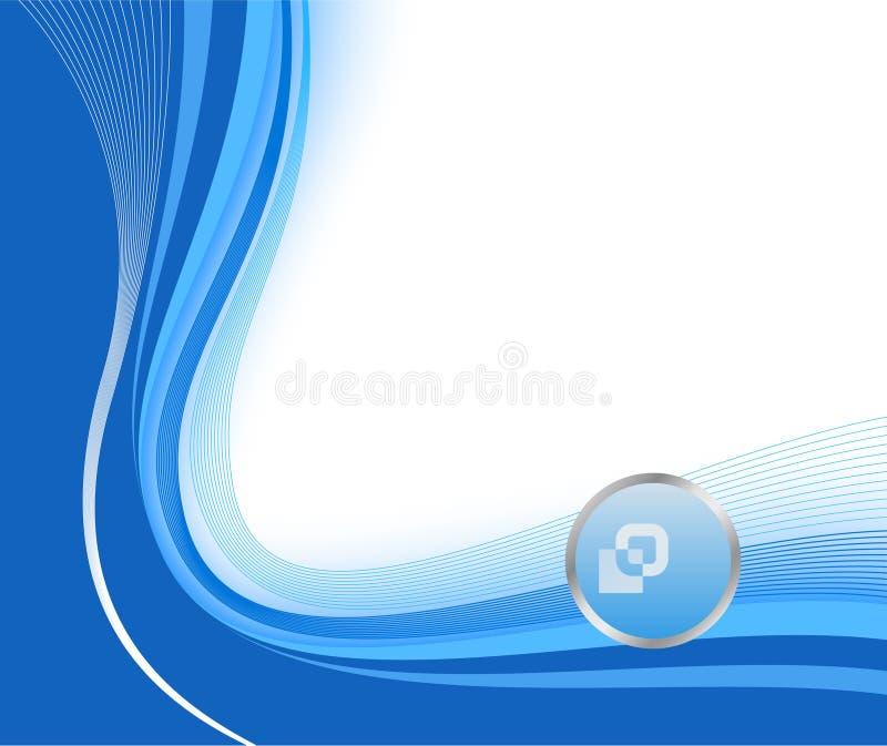 Blue technological background